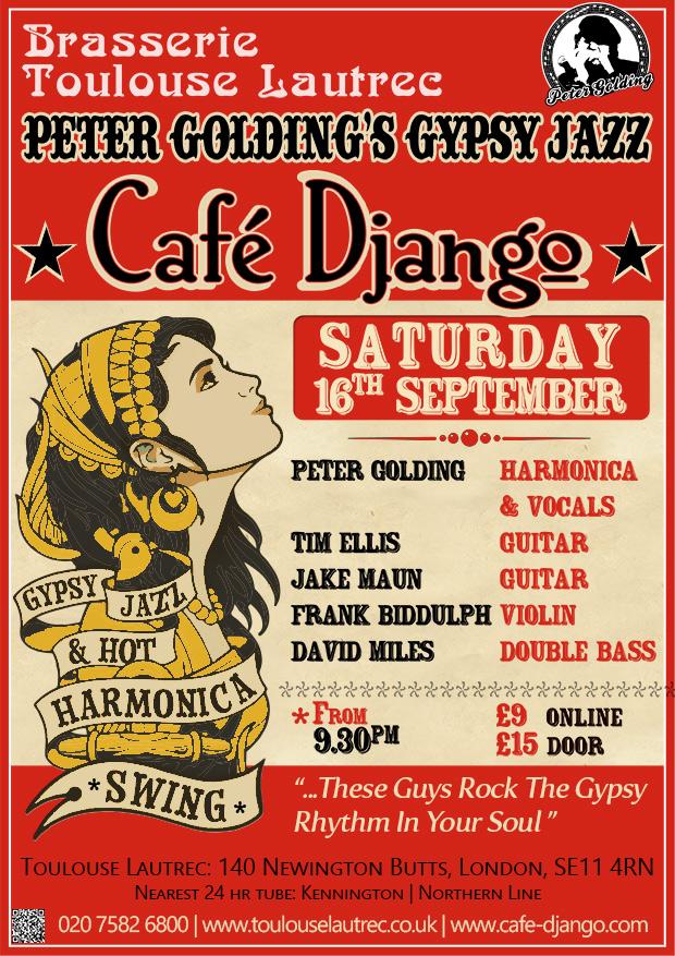 cafe django poster