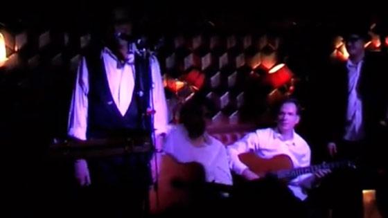 Peter Golding and Cafe Django at MOMOs