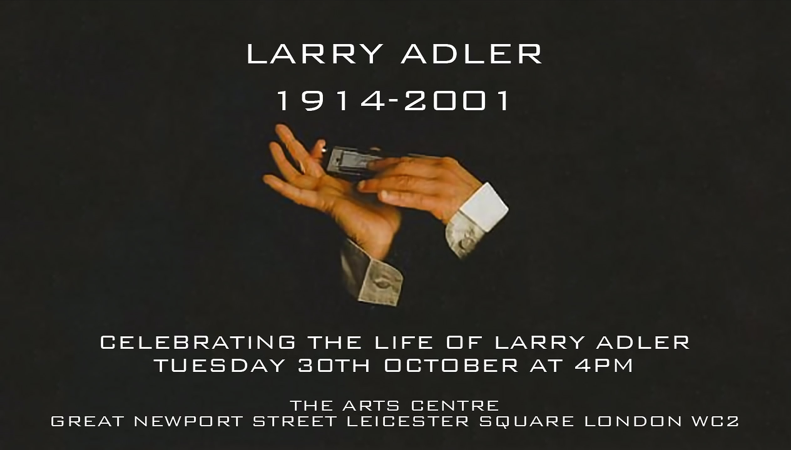 Larry Adler Tribute - Official Master Version - Peter Golding with Diz Disley & The Hot Club Of London