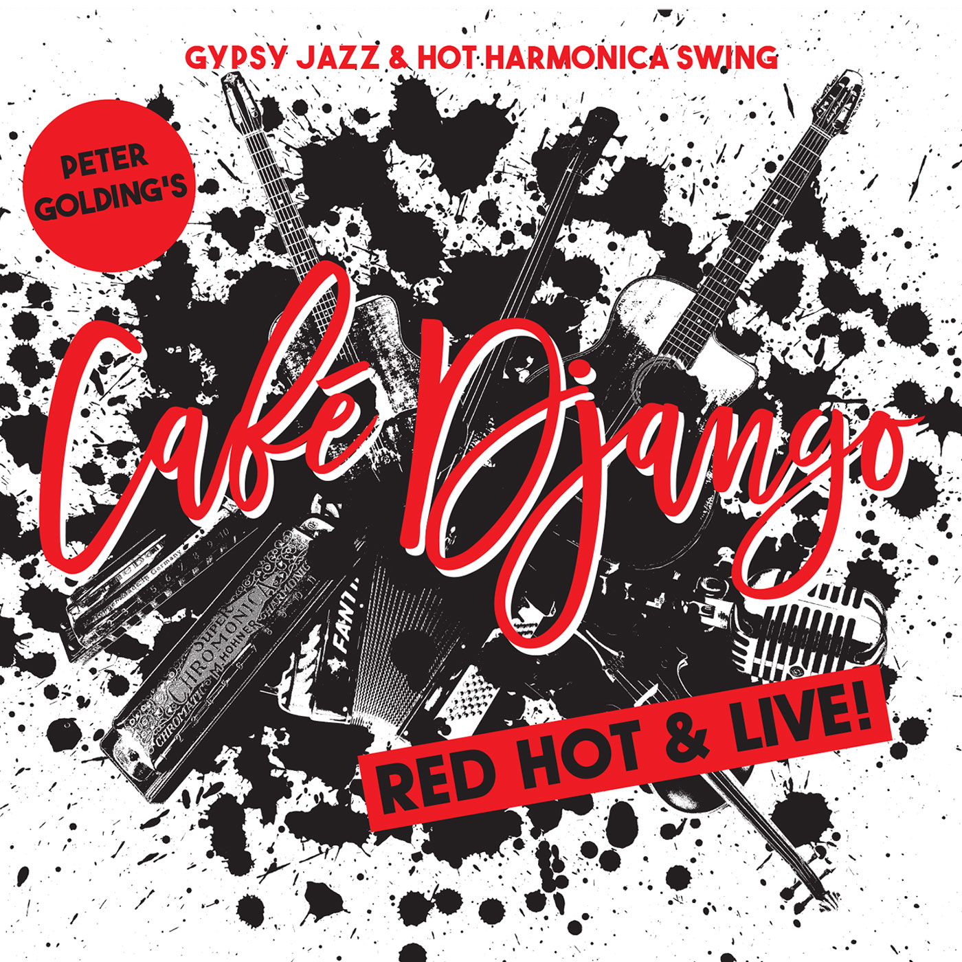 red hot & live CD cover