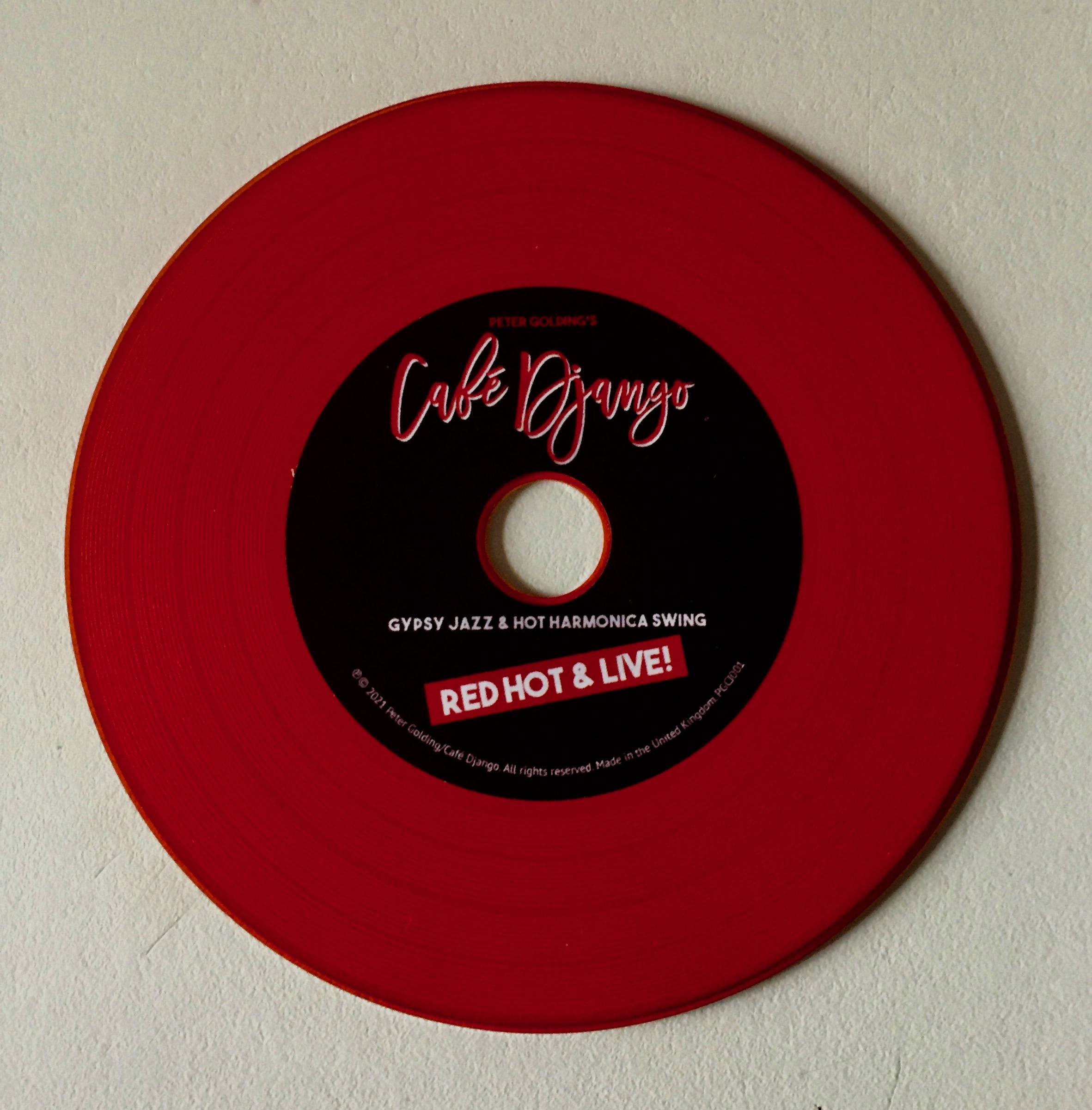 red hot & live CD